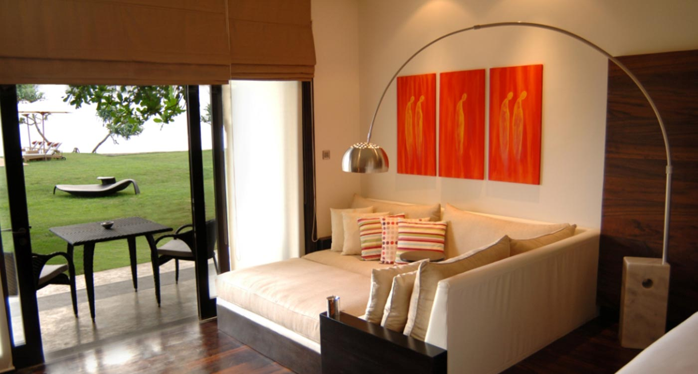 Beach Room Interior at The Fortress Resort And Spa
