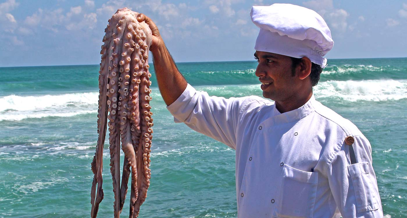 Fresh Seafood at The Fortress Resort and Spa