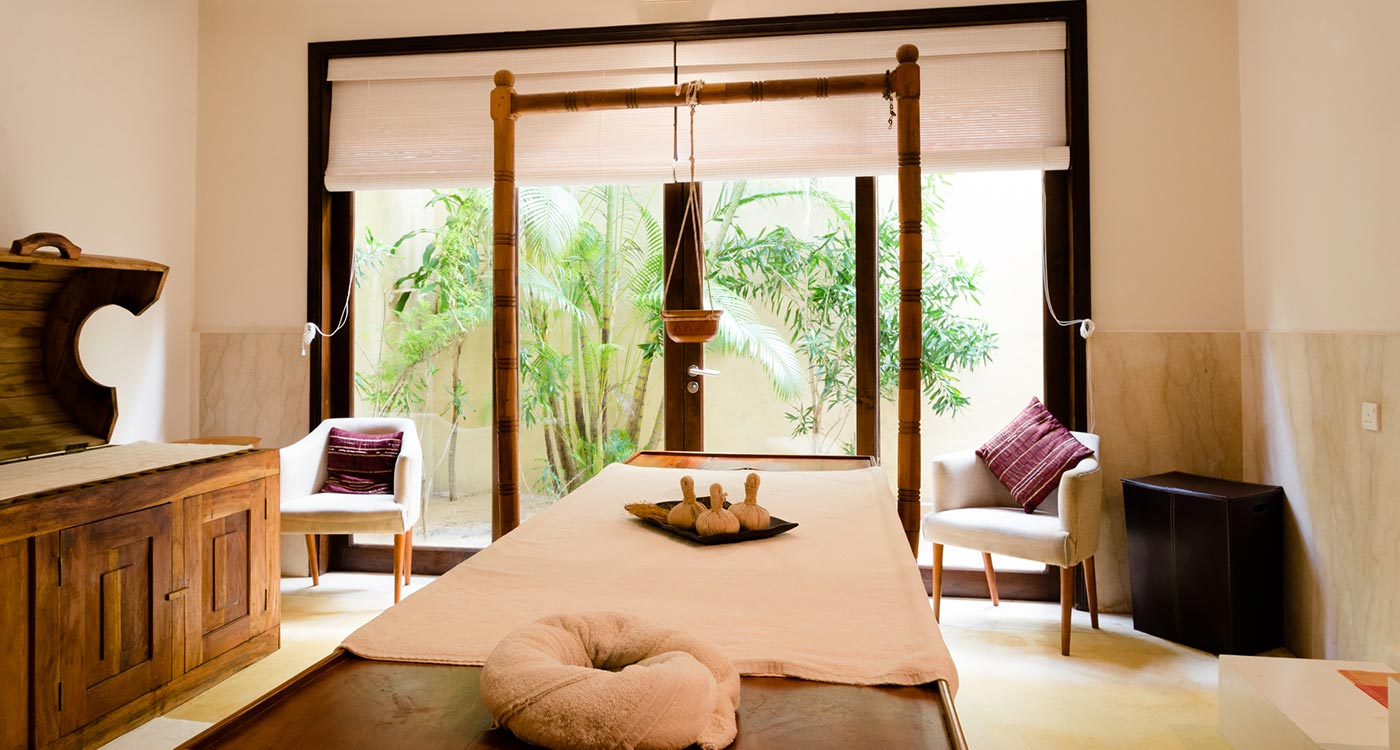 The Spa Bed at The Fortress Resort & Spa