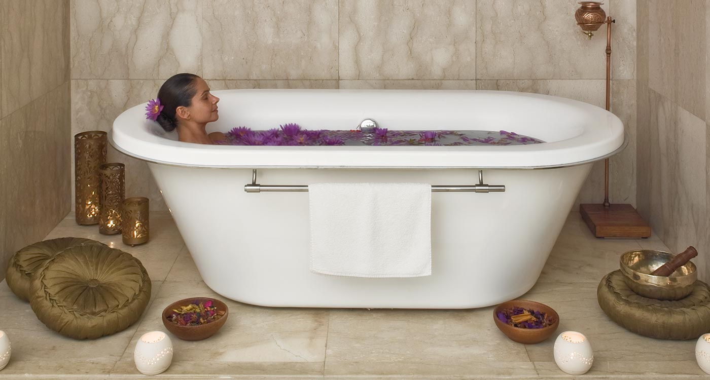 The Fortress Resort and Spa Rejuvenating baths