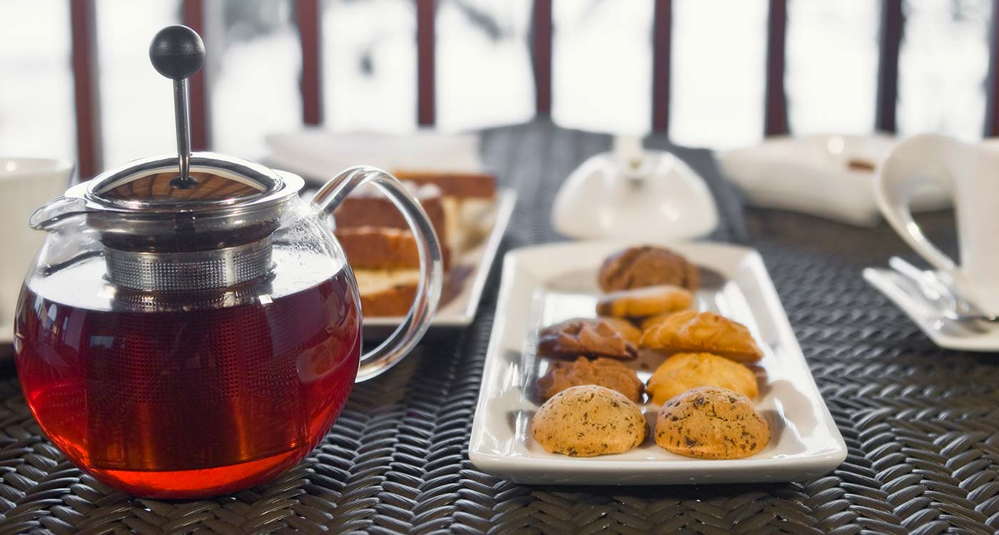 The Fortress Resort and Spa, Biscuits and Ceylon Tea presented at T-lounge