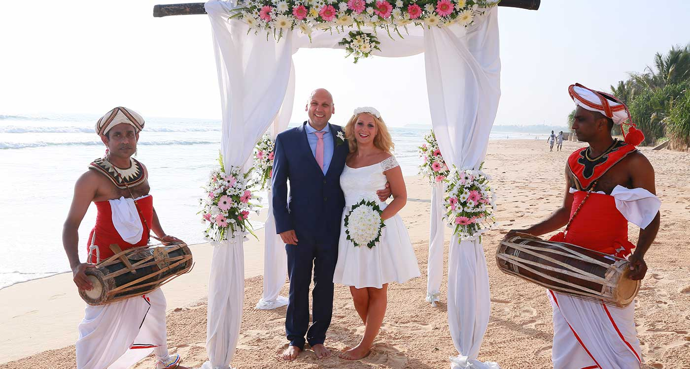 A Wedding Ceremony In the Beach