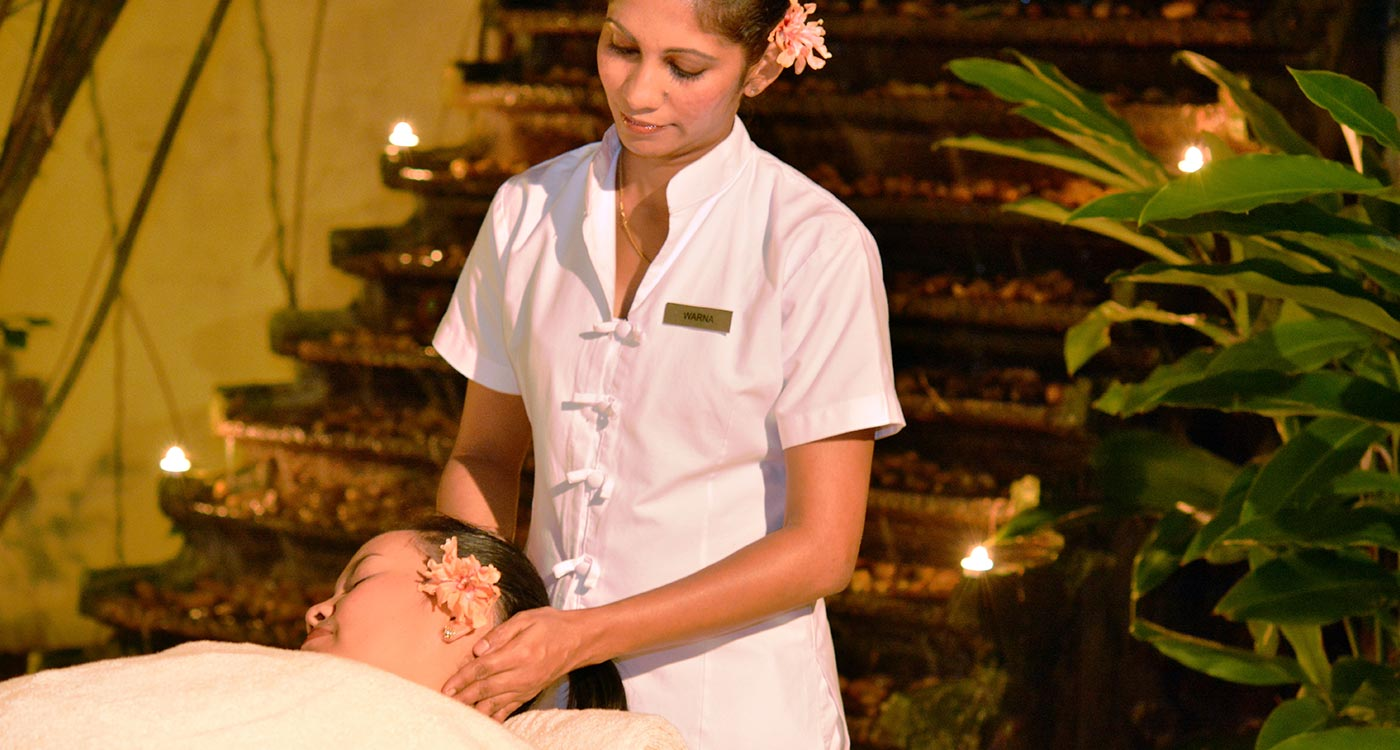 Authentic Healing Rituals at The Fortress Resort and Spa