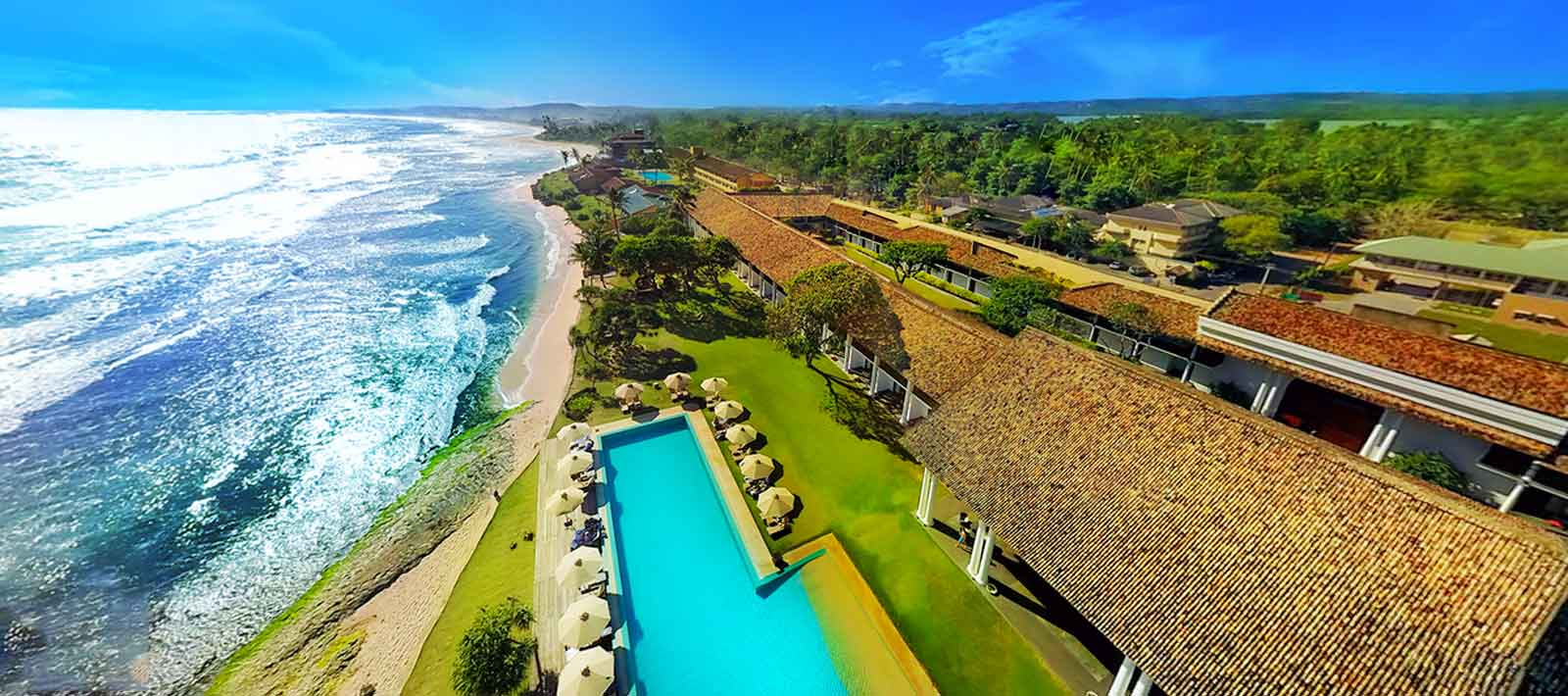 the Fortress Resort & Spa ~ galle, sri lanka